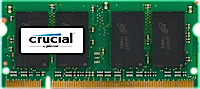 SO-DIMM 1GB DDR2-800 MHz Crucial CL6