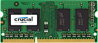 SO-DIMM 4GB DDR3L - 1600 MHz Crucial CL11 SR 1.35V/1.5V