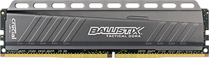 4GB DDR4-2666MHz Crucial Ballistix Tactical CL16 SRx8