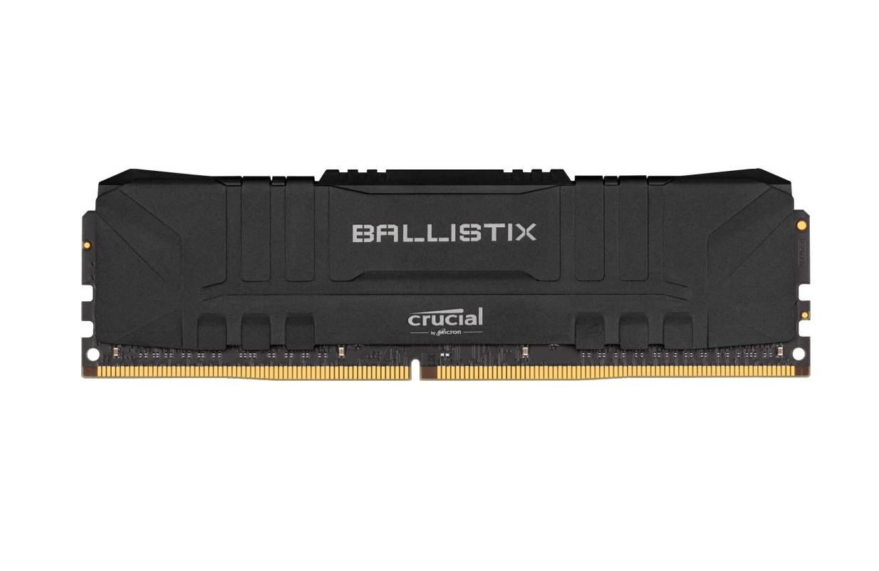 64GB DDR4 3200MHz Crucial Ballistix CL16 2x32GB Black