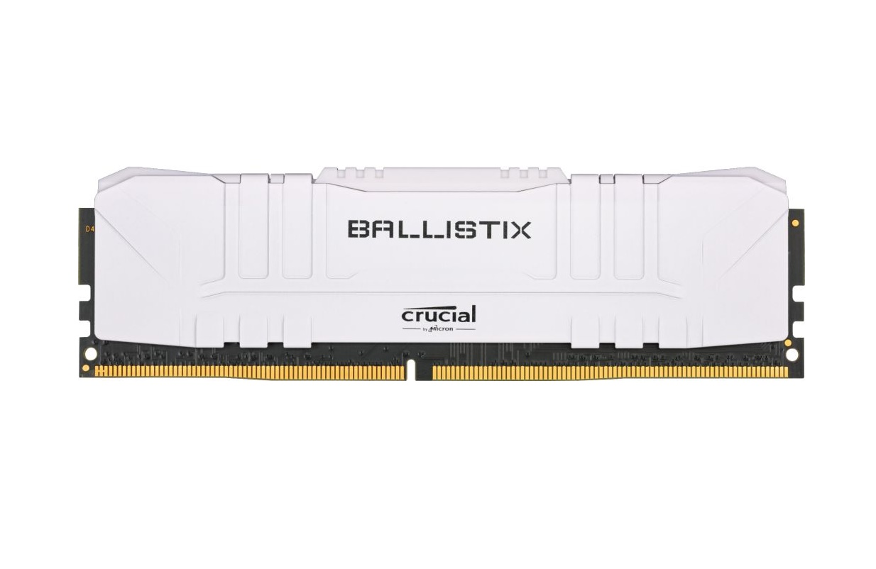 64GB DDR4 3200MHz Crucial Ballistix CL16 2x32GB White