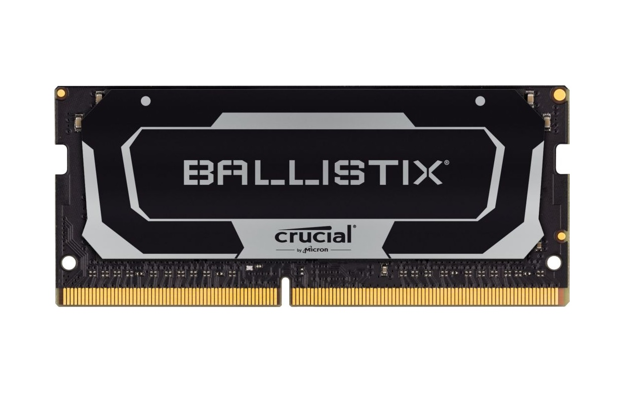 SO-DIMM 32GB DDR4 2666MHz Crucial Ballistix CL16 2x16GB Black