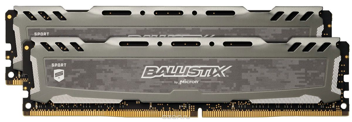 8GB DDR4-2666MHz Crucial Ball. CL16, kit 2x4GB