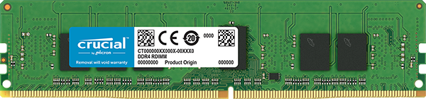 4GB DDR4 2666MHz Crucial CL19 ECC Registered DIMM