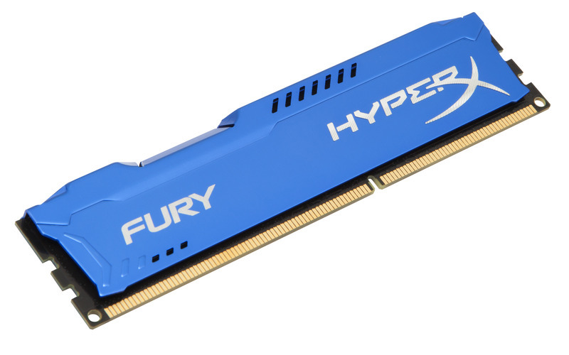 8GB DDR3-1600MHz Kingston HyperX Fury Blue