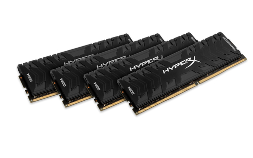 32GB DDR4-2666MHz CL13 Kingston XMP HyperX Predator, 4x8GB
