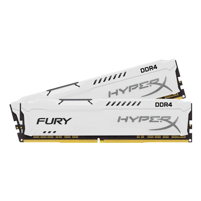 32GB DDR4 2400MHz CL15 DIMM HyperX FURY White, 2x16GB