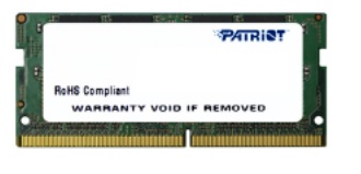 SO-DIMM 4GB DDR4-2400MHz Patriot CL17 256x16