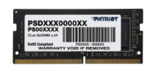 SO-DIMM 16GB DDR4-2666Hz Patriot CL19 2Gx8