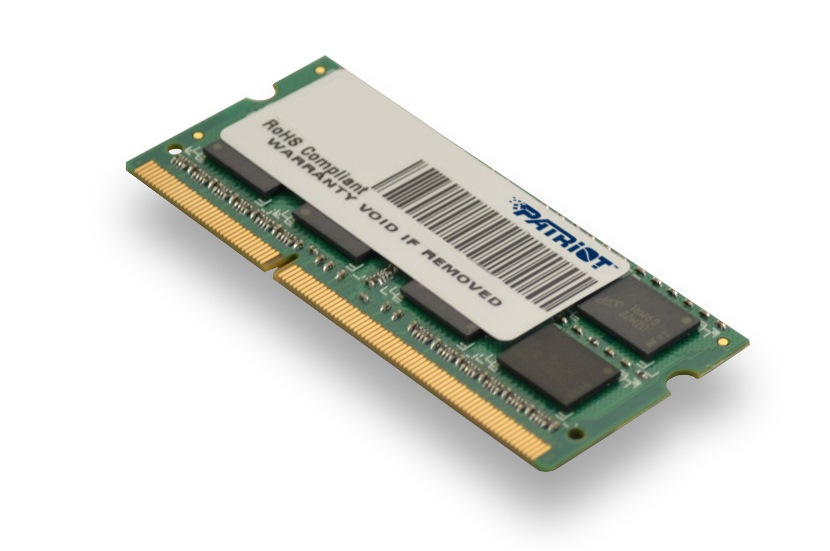SO-DIMM 4GB DDR3L-1333MHz Patriot 1,35V DR