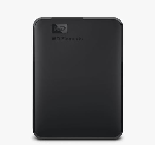 "Ext. HDD 2.5"" WD Elements Portable 5TB USB"