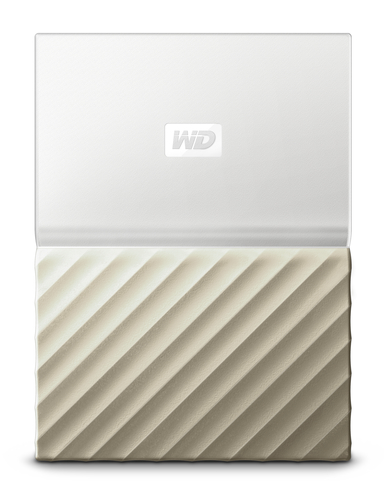 "Ext. HDD 2,5"" WD My Passport Ultra 1TB bílo-zlatá"