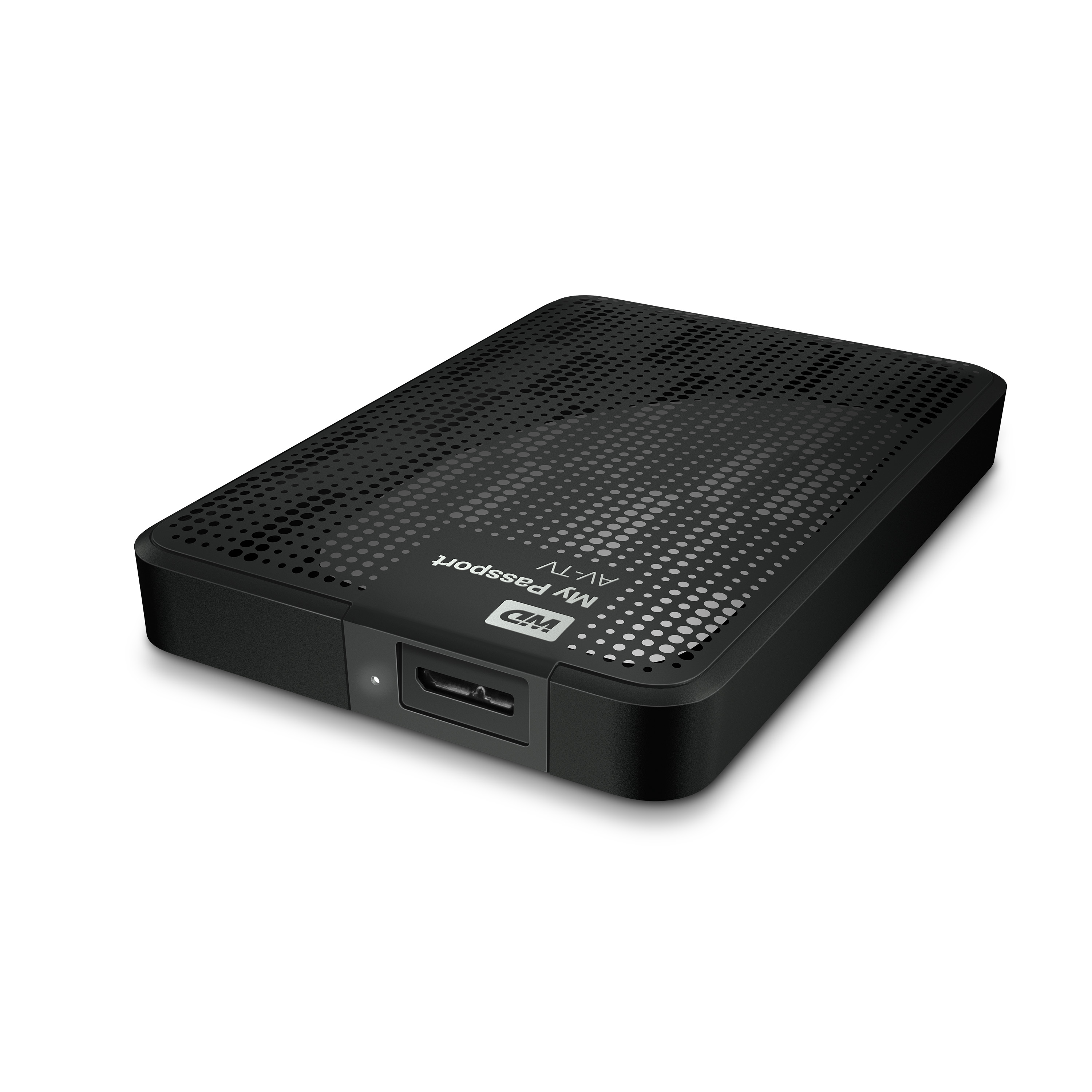 "Ext.HDD 2.5"" WD My Passport AV-TV 1TB USB3.0 černý"