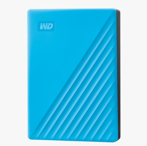 "Ext. HDD 2,5"" WD My Passport 4TB USB 3.0. modrý"