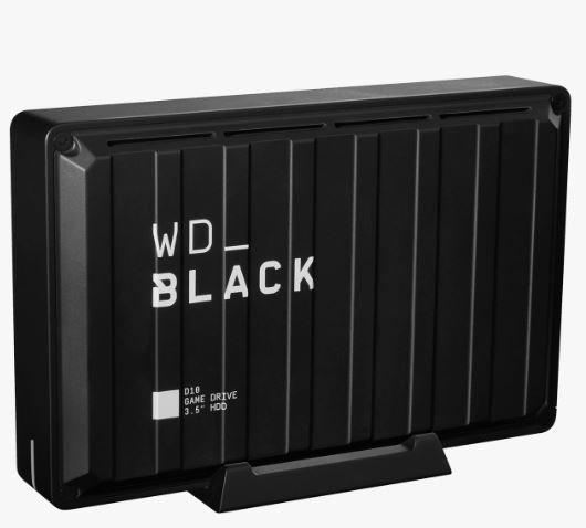 "Ext. HDD 3,5"" WD_BLACK 8TB D10 P10 Game Drive"
