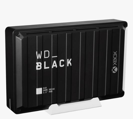 "Ext. HDD 3,5"" WD_BLACK 12TB D10 Game Drive XboxOne"