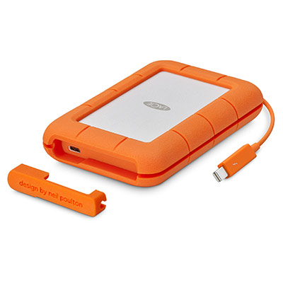 Ext. SSD LaCie Rugged Thunderbolt USB-C 1TB USB3.1