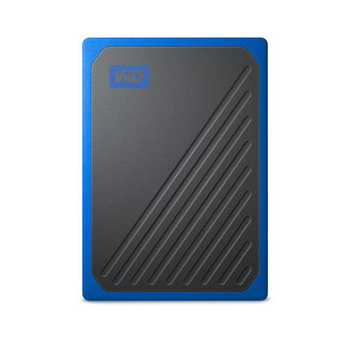 Ext. SSD WD My Passport GO 500GB USB3.0 modrý