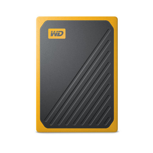 Ext. SSD WD My Passport GO 500GB USB3.0 žlutý