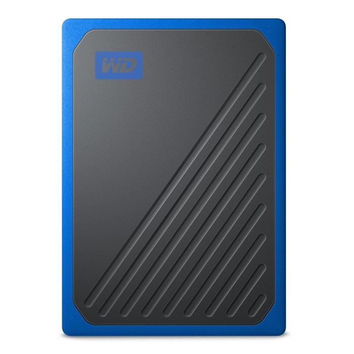 Ext. SSD WD My Passport GO 2TB USB3.0 modrá