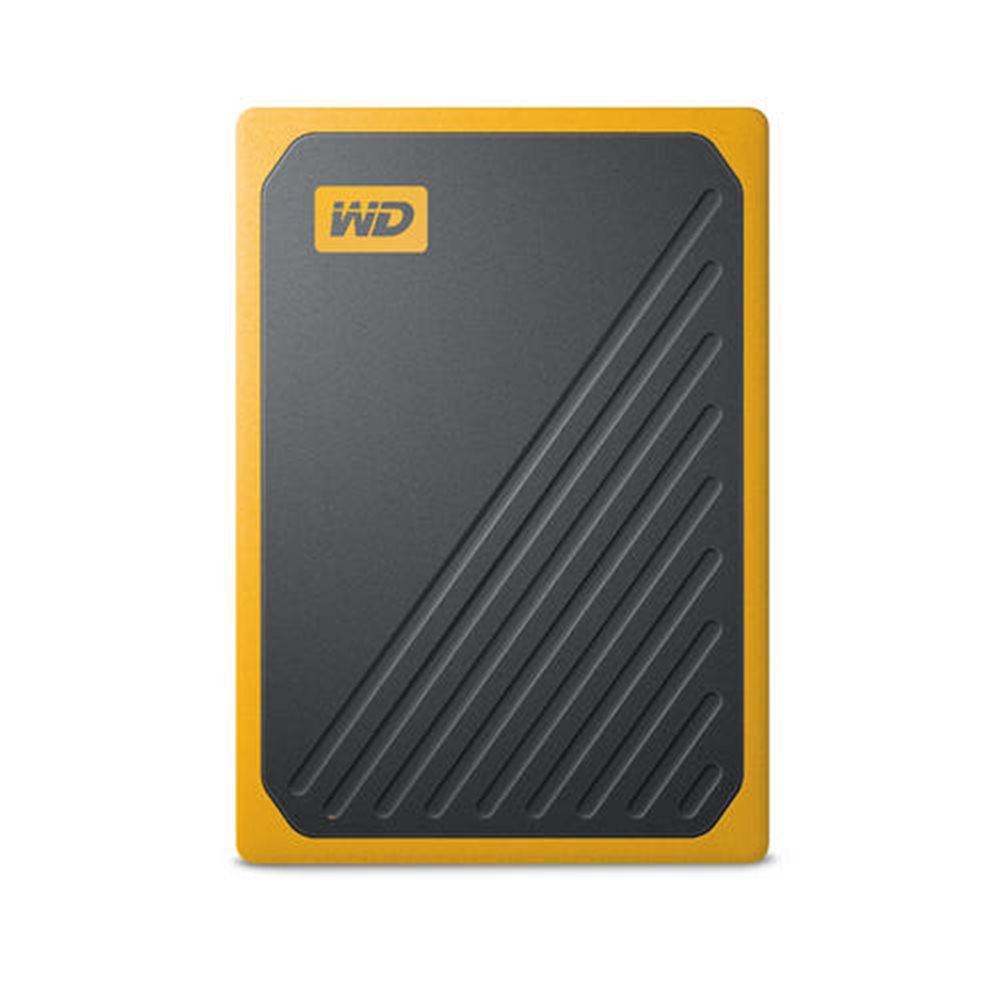 Ext. SSD WD My Passport GO 2TB USB3.0 žlutý