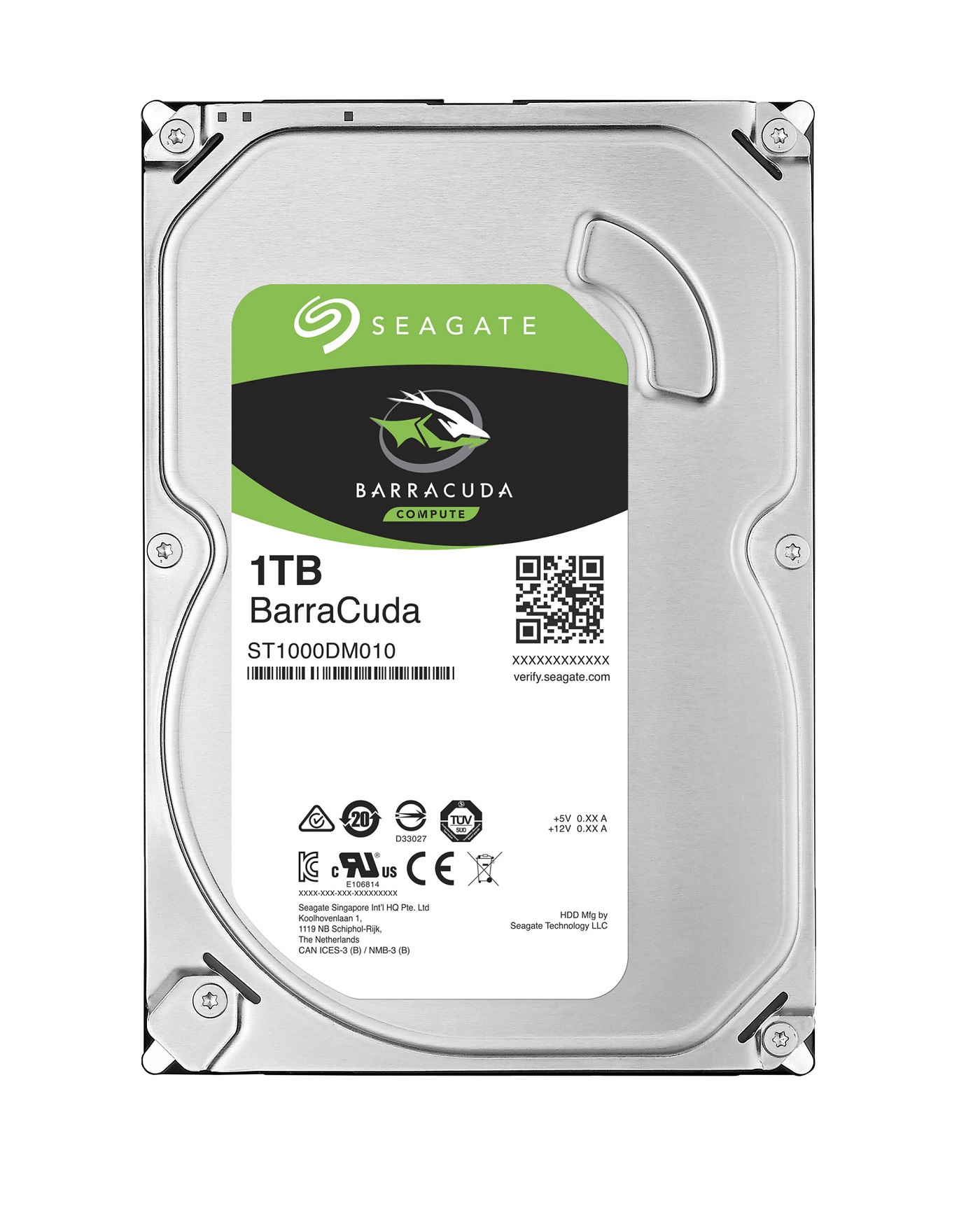 HDD 1TB Seagate BarraCuda 64MB SATAIII 7200rpm 2RZ