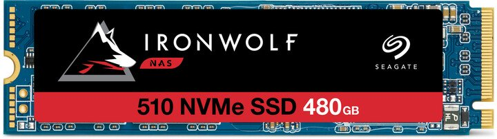 SSD 480GB Seagate IronWolf 510 NVMe M.2 PCIe G3 x4