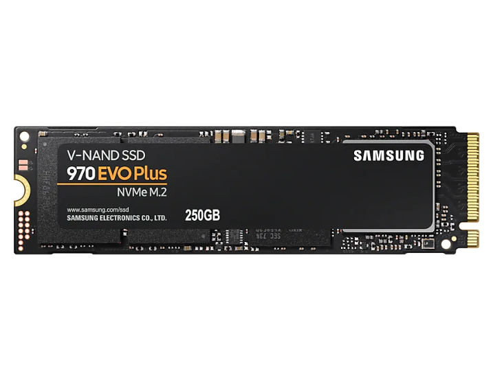 SSD M.2 250GB Samsung 970 EVO PLUS