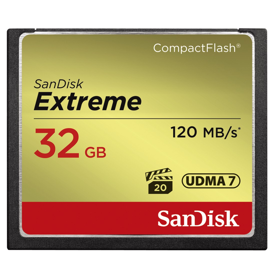 SanDisk Extreme CompactFlash 32GB 120MB/s