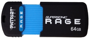 64GB Patriot SuperSonic Rage 3.0 USB 180/50MBs