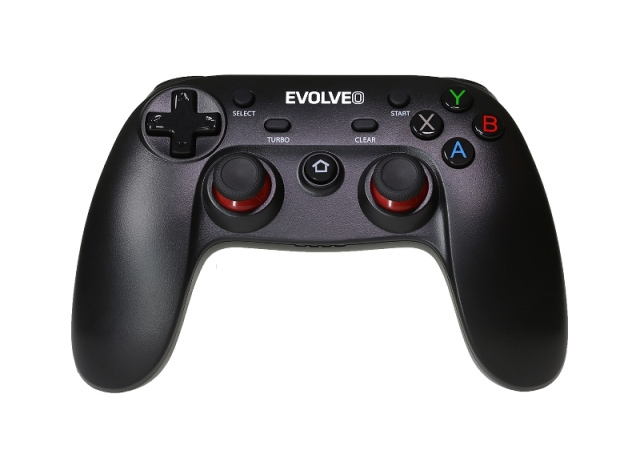 EVOLVEO Fighter F1, bezdrátový gamepad pro PC, PlayStation 3, Android box/smartphone