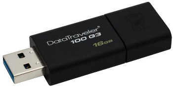 16GB Kingston USB 3.0 DataTraveler 100 G3