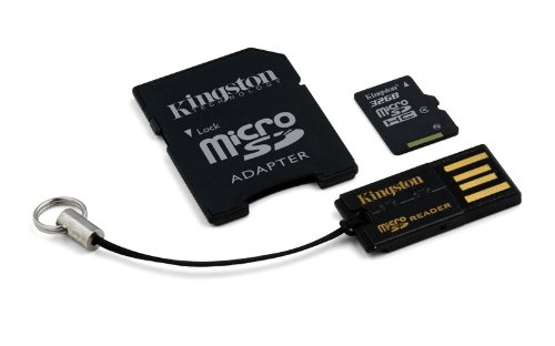 32GB Mobility Kit G2 Kingston class 4