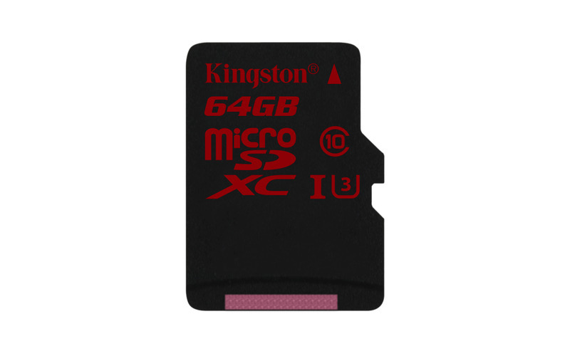 64GB microSDXC Kingston U3 90R/80W bez adapteru