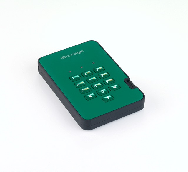 diskAshur2 256-bit 500GB - Green