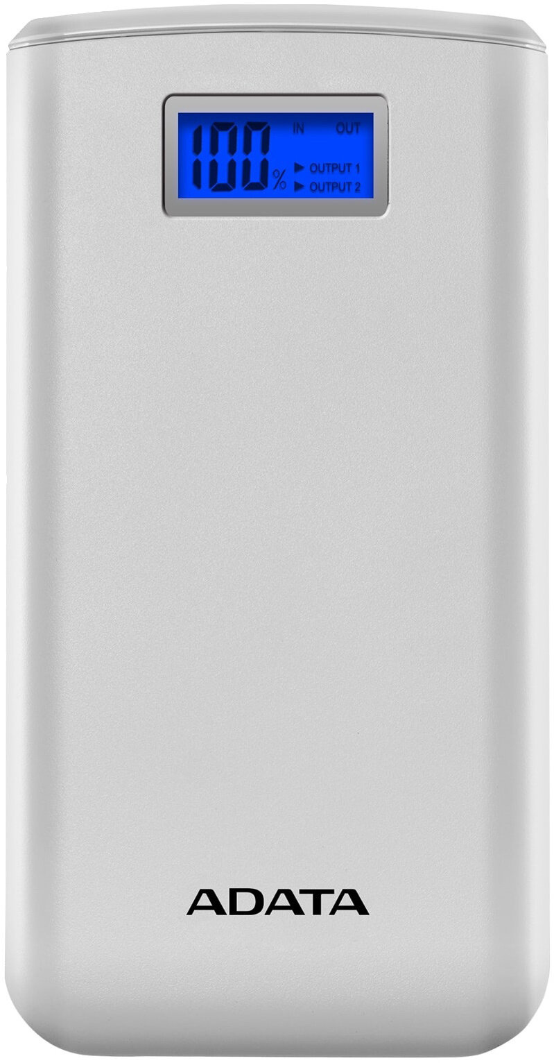 ADATA S20000D Power Bank 20000mAh bílá