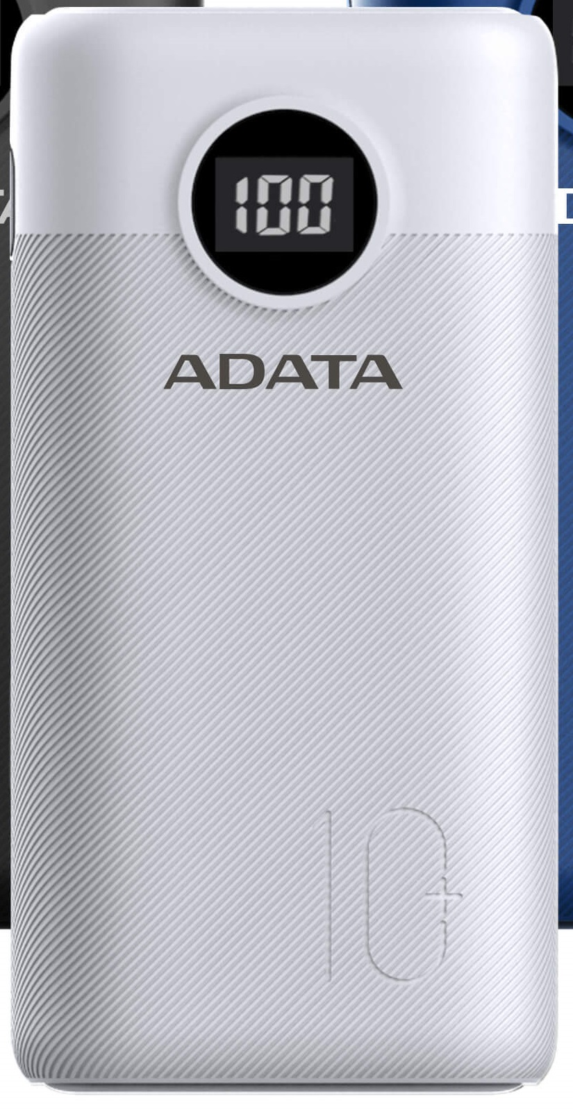 ADATA P10000QCD Power Bank 10000mAh bílá