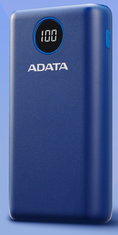 ADATA P20000QCD Power Bank 20000mAh modrá