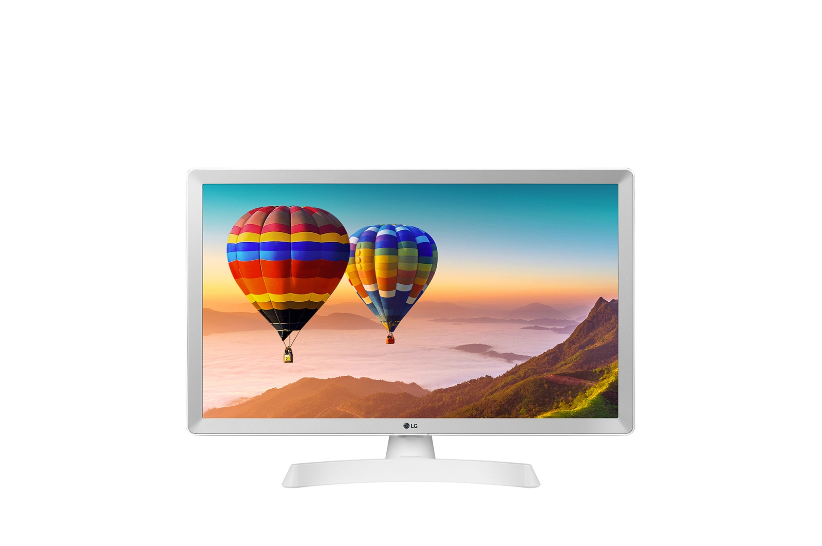 "24"" LG LED 24TN510S - HD ready,DVB-T2/C/S2, bílá"