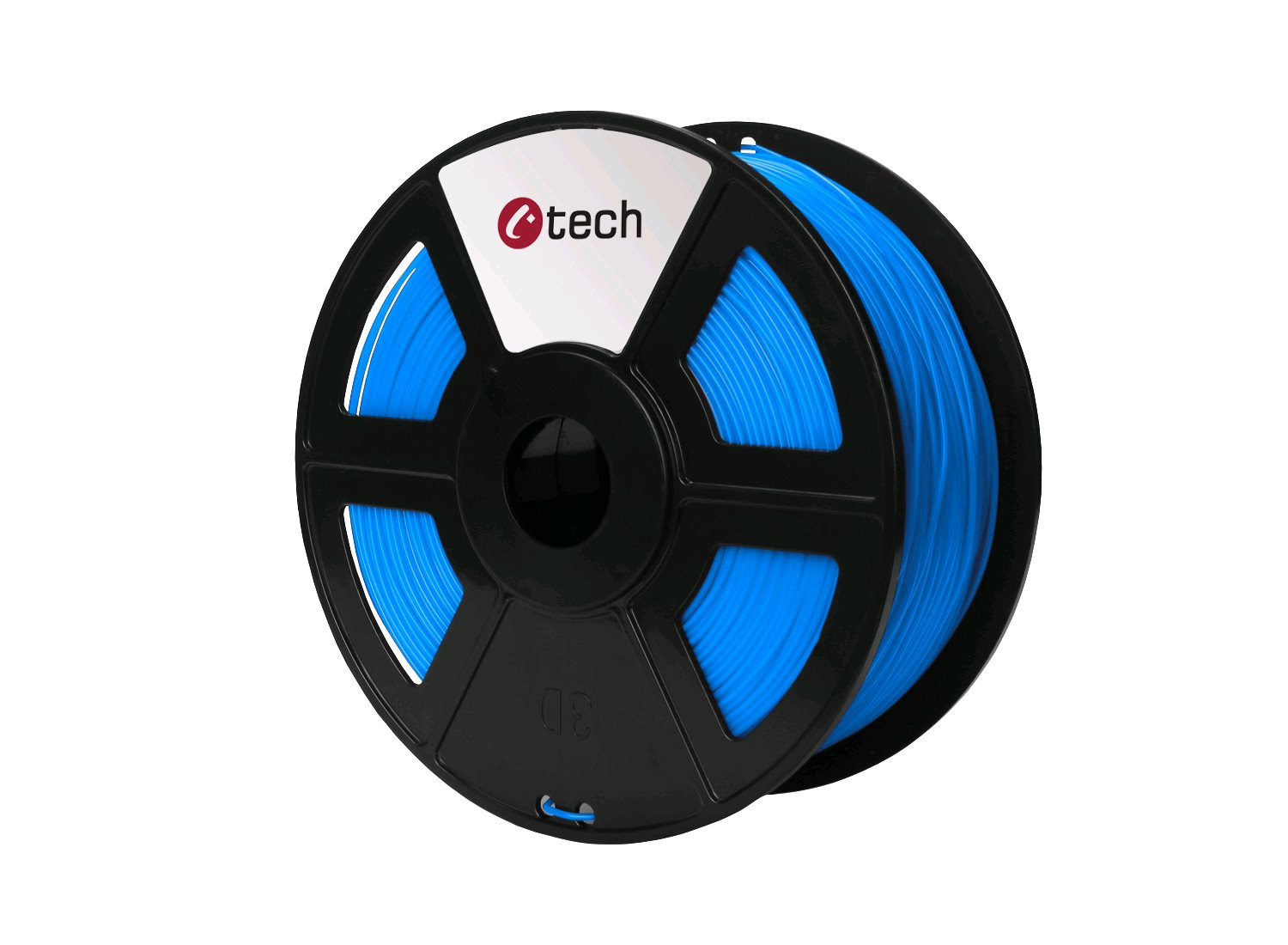 PETG filament modrá C-TECH, 1,75mm, 1kg