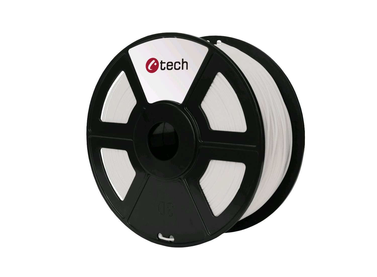 PETG filament natural C-TECH, 1,75mm, 1kg