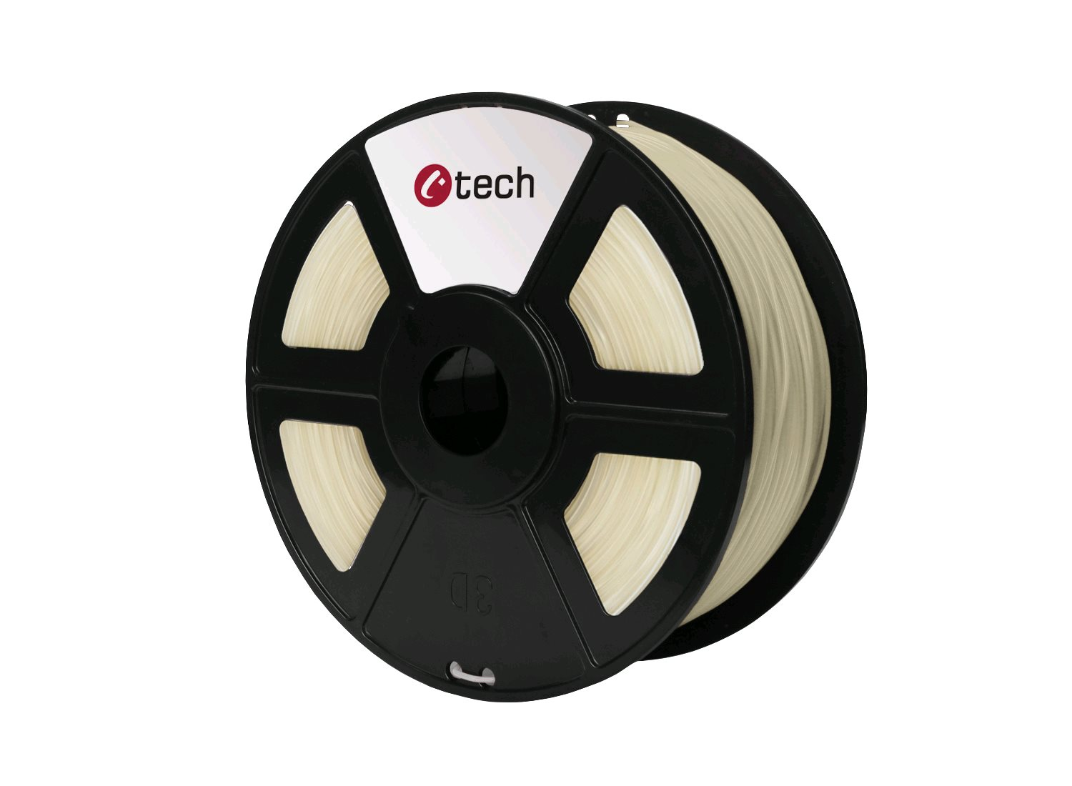 PETG filament transparentní C-TECH, 1,75mm, 1kg