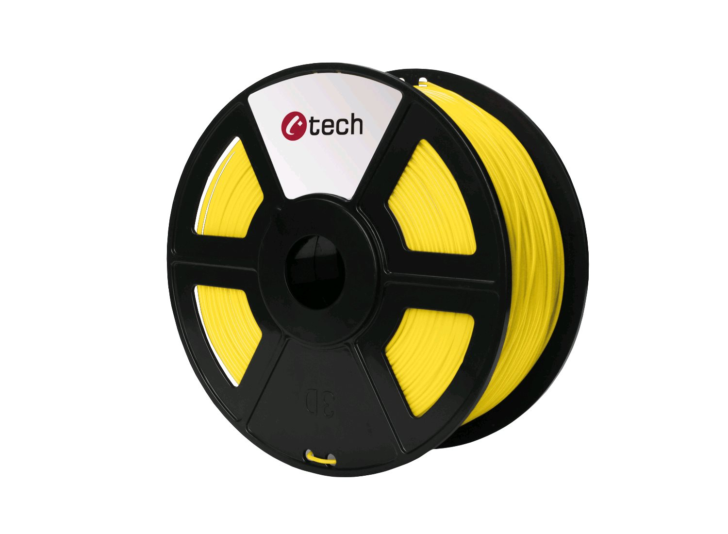 PETG filament žlutá C-TECH, 1,75mm, 1kg