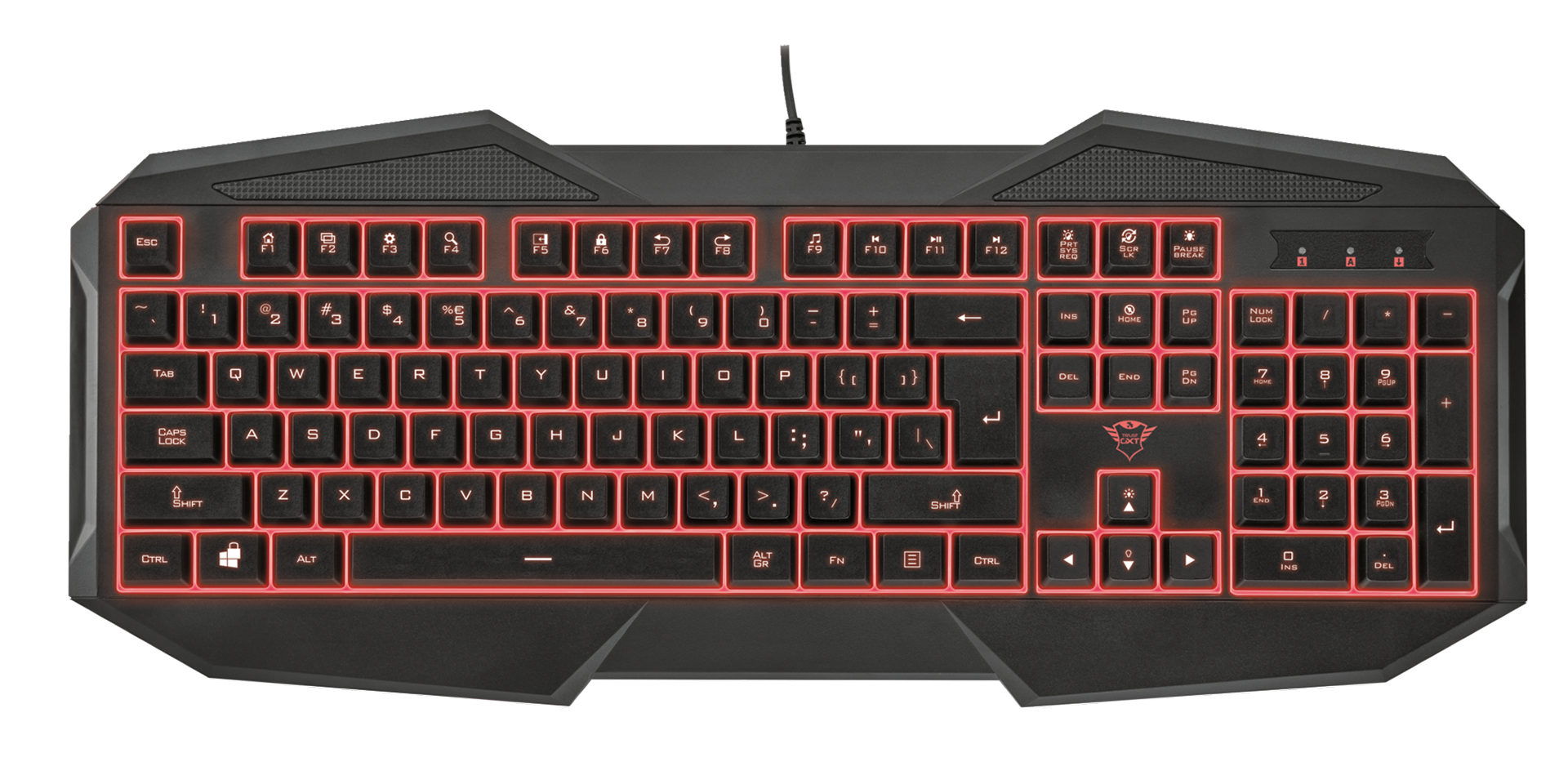 kláv. TRUST GXT 830 Gaming keyboard
