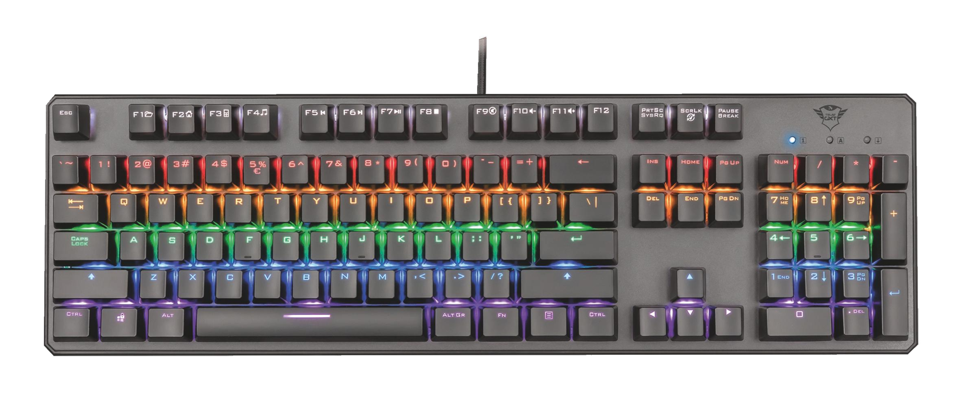 kláv. TRUST GXT 865 Asta Mechanical Keyboard