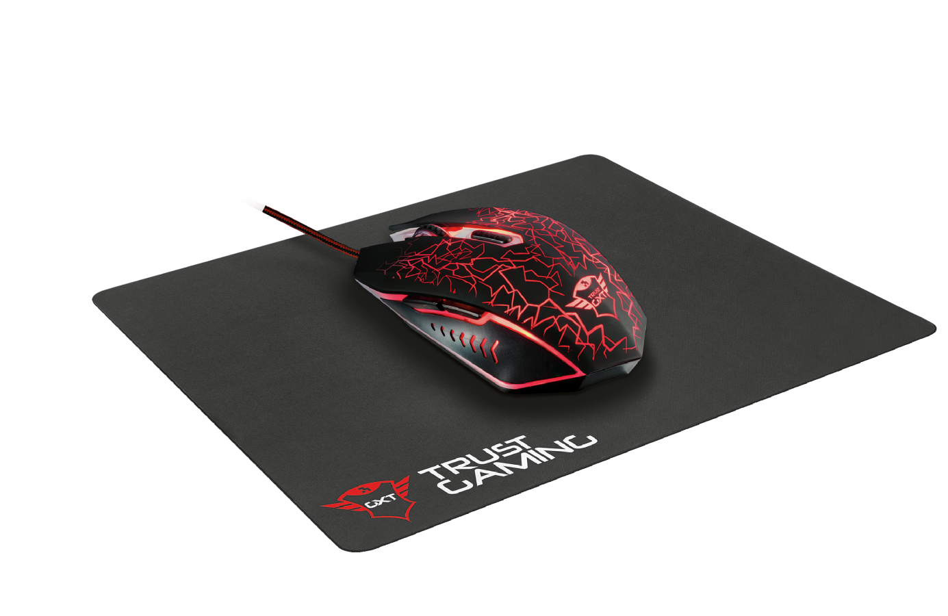 TRUST GXT 783 Gaming Mouse + Mouse Pad