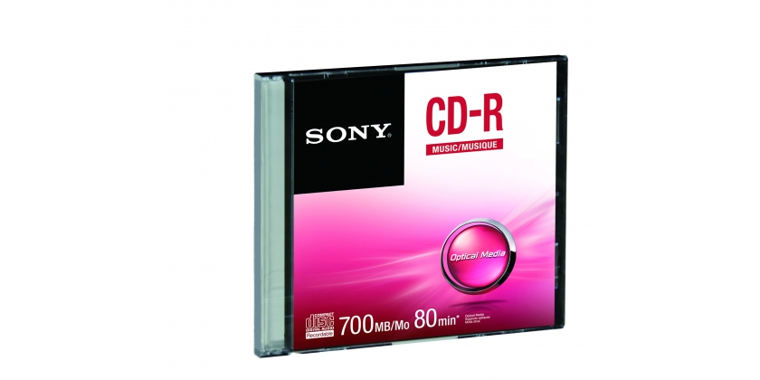 Média SONY CD-R  CRM80SS, bal. 1 ks, SLIM
