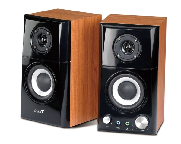 Speaker GENIUS SP-HF 500A wood 2.0 14W