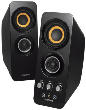 Speaker CREATIVE T30,2.0, Bluetooth 3.0,black