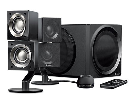 Speaker CREATIVE T6, 2.1, Bluetooth black